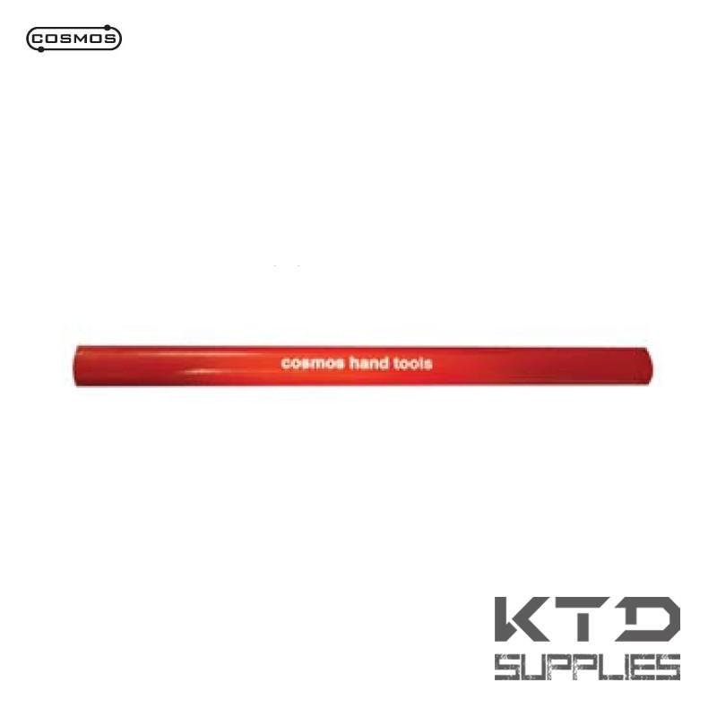 Crayon COSMOS type charpentier - rouge * 180 mm