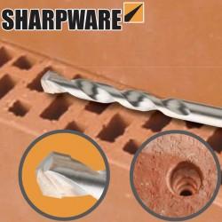 Mèche à percussion pour briques creuses