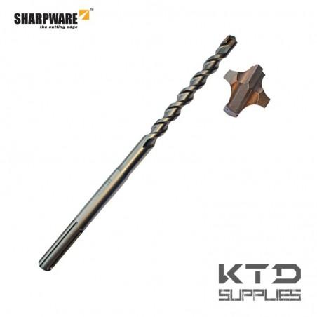Mèche Elite pour béton armé 4 taillants SDS MAX D4