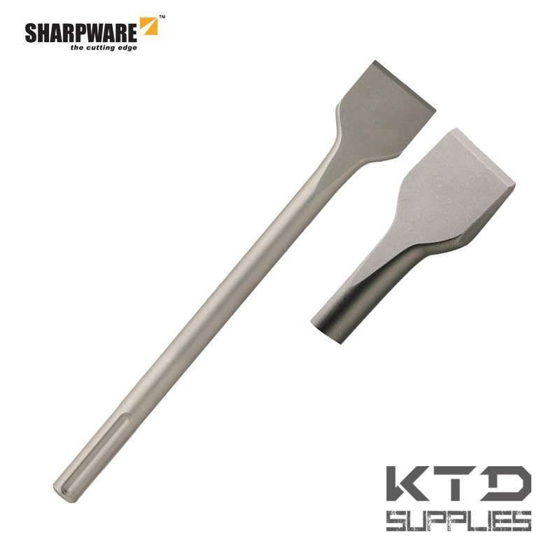 SDS-max burin plat large
