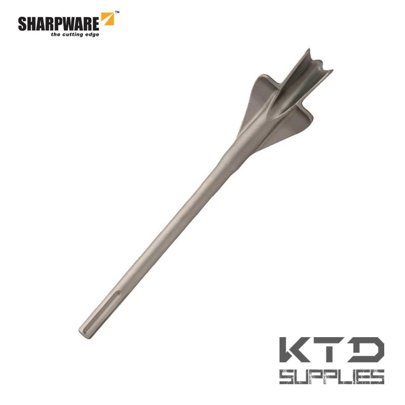 SDS-max ciseau gouge brique