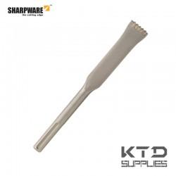 SDS-max burin à dents carbure
