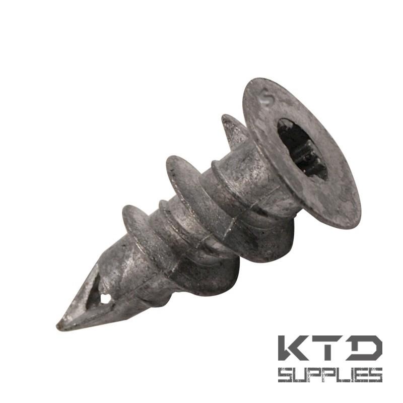 Cheville en métal pour plaque de plâtre