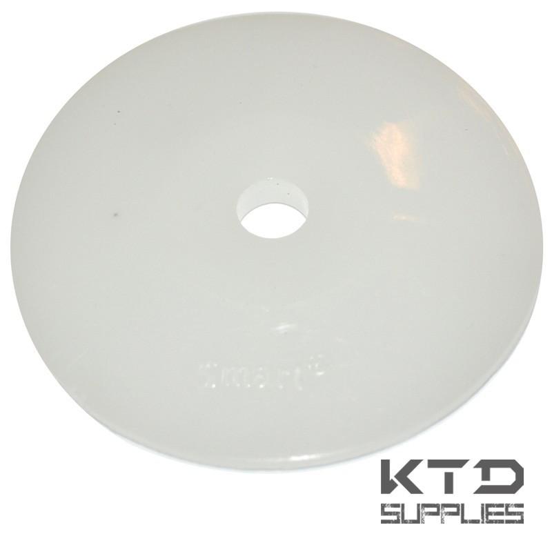 Rondelle ronde pour panneaux isolants