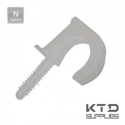 Fixation clips pontet simple