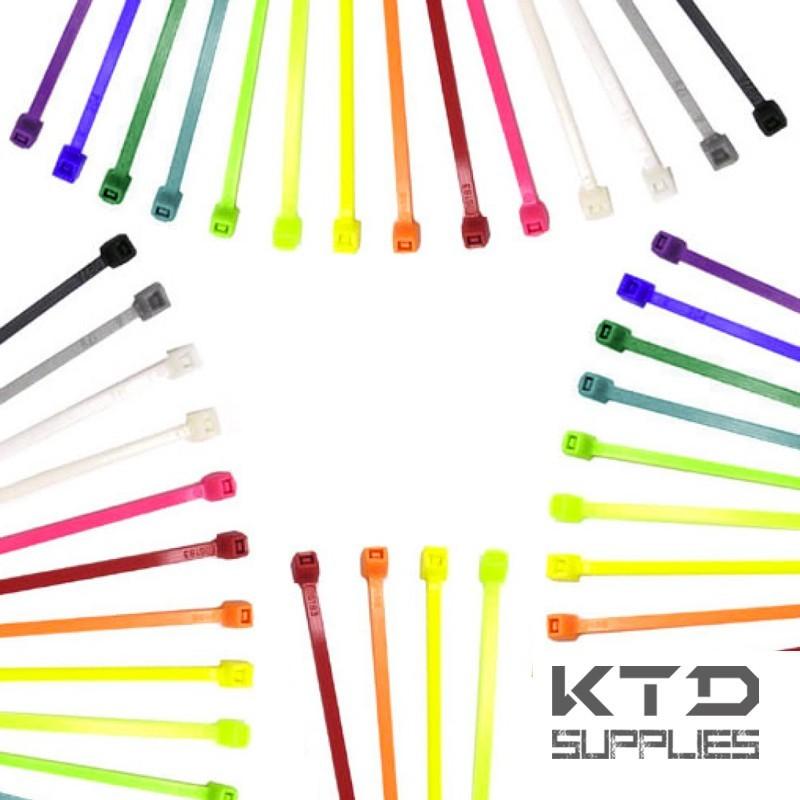Collier de câblage coloré