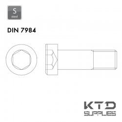 Vis à tête basse cylindrique à 6 pans creux - DIN 7984