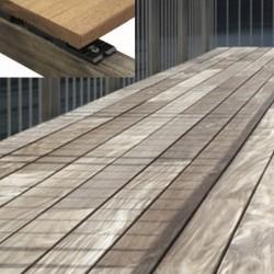 HAPAX fixation invisible terrasse