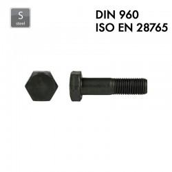 Boulon à tête hexagonale - Acier 8.8 - DIN 960 – EN 28765