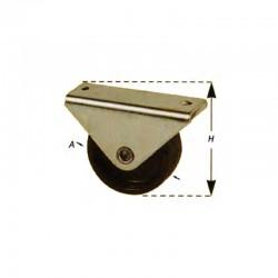 Roulettes divan – synthétique plateau fixe