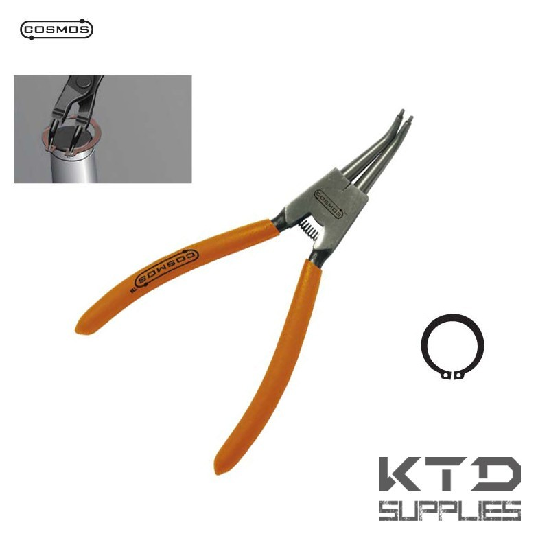 Pince circlips ext rieur 45 175 mm ktd supplies for Circlips exterieur